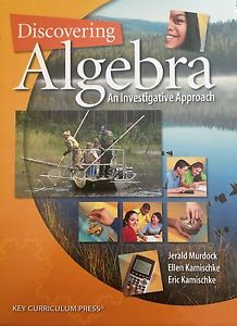 Discovering Advanced Algebra: An Investigative Approach